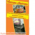 CARROS CHURREROS, AVENEROS, SALCHICHEROS, AMBULANTES, COMIDAS RAPIDAS, EMPANADAS