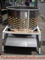 Peladora de pollos conos de sacrificios desmechador de pollos mesas de trabajo laminadoras