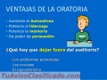 Curso Intensivo de Oratoria y Liderazgo (Personalizados)