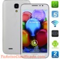 Smartphone 5pulg, Android 4.2,Dual Core,5MP Dual Cam