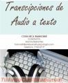 Transcripción de audio a Texto