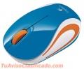 Mouse logitech m187 mini wireles blue