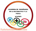 ASESORIAS Y CURSOS ESPECIALIZADOS DE MATEMATICA Y FISICA!!! A DOMICILIO!!!!