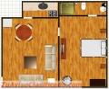 Alquiler apartamentos estudios amueblados en miraflores, gazcue, Sto. Dgo. RD.