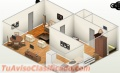 Alquiler apartamentos estudios amueblados en miraflores, próximo a unibe y caribe tours.