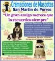 Cremaciones de Mascotas San Martin de Porres