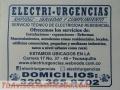 Electricista a Domicilio Galerias, Teusaquillo, Lourdes, Javeriana, Pablo VI, La soledad