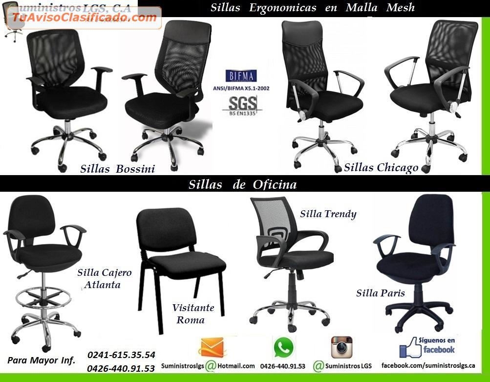 Sillas Ergonomicas Para Oficina Peru.Ofertas En Sillas Ejecutivas En Tela Y Malla Mesh Ergonomicas Desd