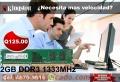 Memoria Ram para PC DDR3 1333MHZ 2GB Kingston Nuevas Originales Con Garantia