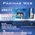 Gran oferta paginas web profesionales Q1,150.00 al año