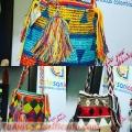 Mochilas wayuu decoradas  en cristales