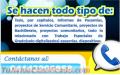 ASESORÍA Y ELABORACIÓN DE TRABAJOS DE GRADO