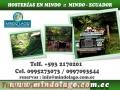 Hosterias en mindo  Ecuador