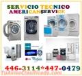 REPARACIONES Y SERVICIO DE PINTURA DE LAVADORAS*SECADORAS 446-3114