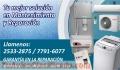 Reparacion de lavadora secadora calentador de agua refrigerador