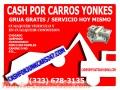 COMPRO CARROS PARA EL YONKE