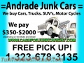 SELL YOUR JUNK CAR TODAY!