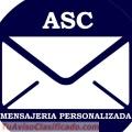 Mensajería personalizada ASC