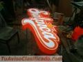 IMPACTO VISUAL  letreros luminosos letras en acero acrílico neón aluminio leds trupam