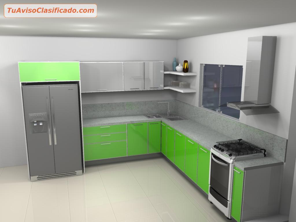 Diseño y fabricación de Cocinas, Closet, Baños, Mobiliarios, Áreas...