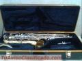 Saxofon Tenor Selmer TS500 con estuche duro.