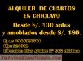 ALQUILO CUARTOS - ELIAS AGUIRRE - CHICLAYO