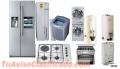 Reparación de  nevera, lavadora, cocina, aire acondicionado.