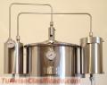 Alambicchi moderni in Acciaio Inox per Essenze e Liquori