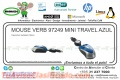 MOUSE VERB 97249 MINI TRAVEL AZUL