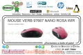 MOUSE VERB 97667 NANO ROSA WIR