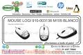 MOUSE LOGI 910-003138 M105 BLANCO