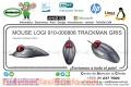 MOUSE LOGI 910-000806 TRACKMAN GRIS