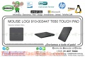 MOUSE LOGI 910-003447 T650 TOUCH PAD