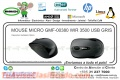 MOUSE MICRO GMF-00380 WIR 3500 USB GRIS