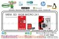 MEM. SD 16GB MICRO 2X1