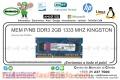 MEM P/NB DDR3 2GB 1333 MHZ KINGSTON