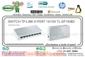SWITCH TP-LINK 8 PORT 10/100 TL-SF1008D