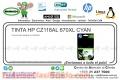 TINTA HP CZ118AL 670XL CYAN