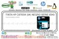 TINTA HP C8765W (94) NEGRO SERIE 6540