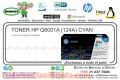 TONER HP Q6001A (124A) CYAN