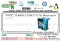 PROC CI5-6400 2.7/6M/1151 6ta Generacion
