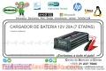 CARGADOR DE BATERIA 12V 20A (7etapas)