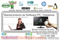 MANTENIMIENTO DE SOFTWARE PC / NOTEBOOK