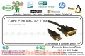 CABLE HDMI-DVI 10 MTS
