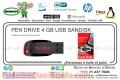 PEN DRIVE 4 GB USB SANKDISK