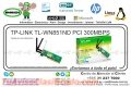 WIRE NE TP-LINK TL-WN851ND PCI 300MBPS 2 ANTENAS