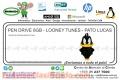 PEN DRIVE 8GB - LOONEY TUNES - PATO LUCAS
