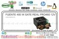 FUENTE 400 W SATE REAL PRO460 12V