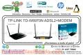 WIRE ROUTER TP-LINK TD-W8970N ADSL2+MODEM 300MBP