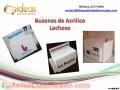 Buzones de PVC y Acrìlico Lechoso